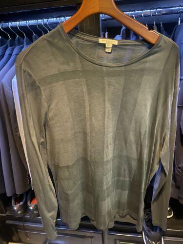 Burberry Long Sleeve T Shirt XL