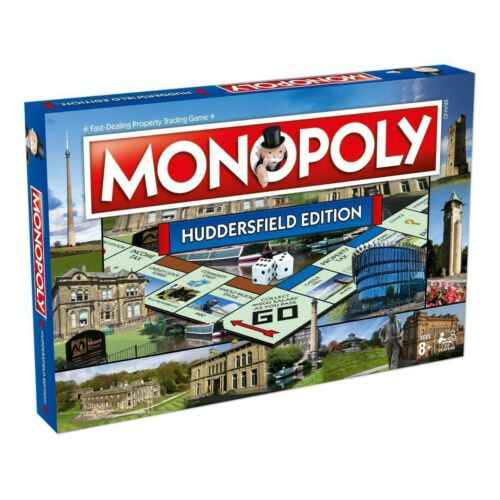 Huddersfield Regional Edition Monopoly Property Trading Board Game new