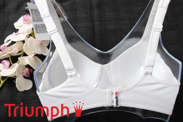 Triumph   Sport – BH   Triaction   Fusion Star  W   70 A 70 B 80 A 90 B weiß NEU