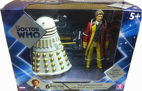 Arzt - 6. doktor + dalek set - offenbarung der daleks 1985 - neue -