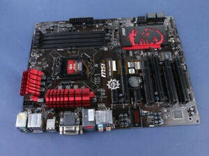 MSI-Technology-B85-G43-GAMING-Intel-B85-LGA-1150-DVI-VGA-USB3-0-carte-mere-DDR3