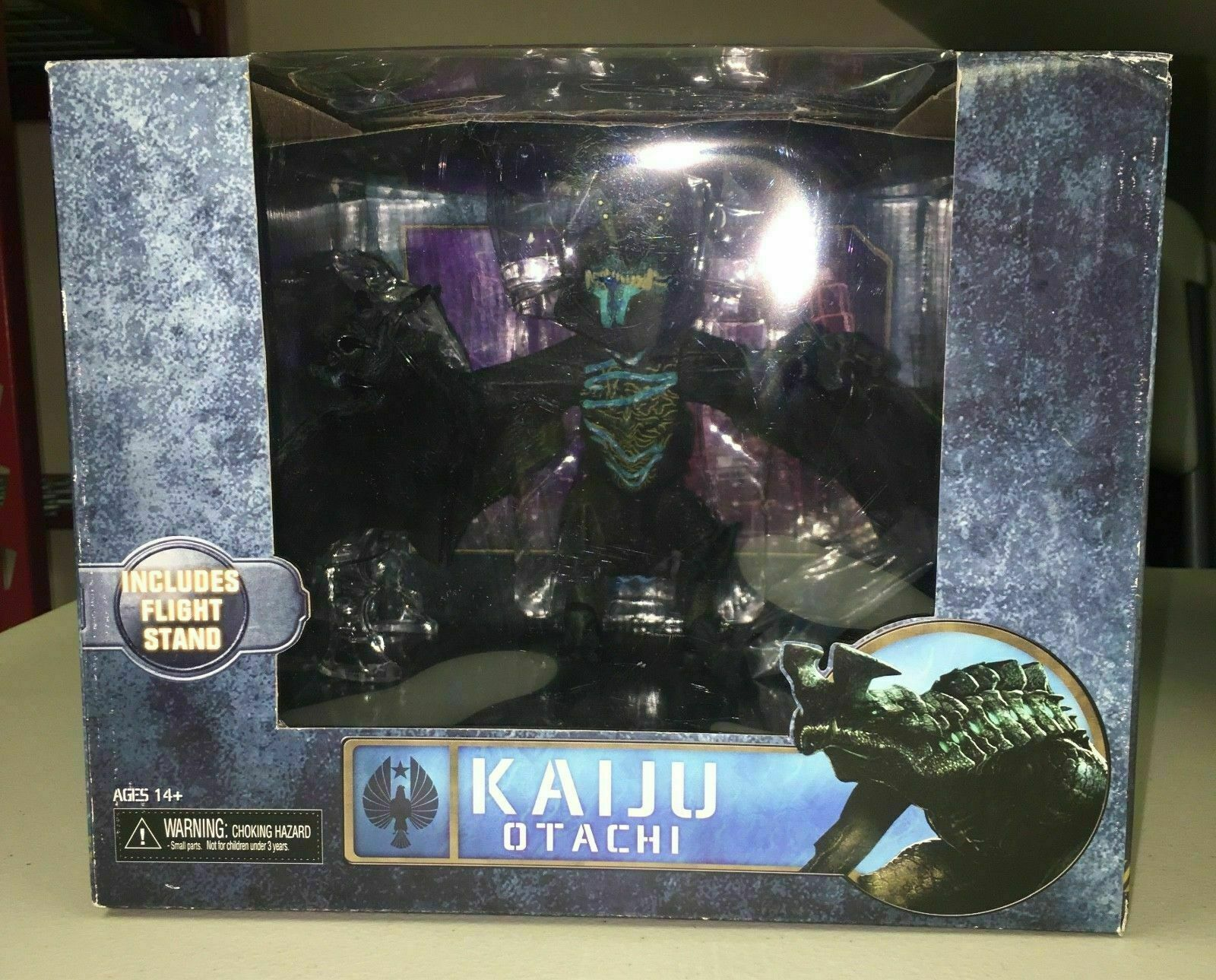 PACIFIC RIM Action Figure KAIJU FLYING OTACHI Ultra Deluxe Box NECA Figura RARE