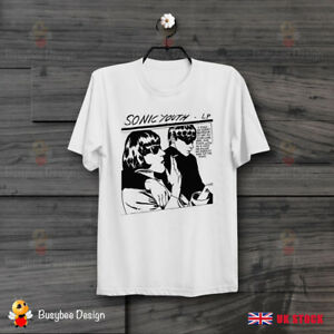 Cool-Sonic-Youth-Goo-Cartoon-Fiction-Unisex-T-Shirt-B334