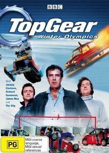 Top-Gear-Winter-Olympics-DVD-2006-R4-Free-Fast-Post-vgc-t58