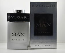 Bvlgari Man Extreme Cologne Spray for Men, 3.4 Ounce New in Box Sealed