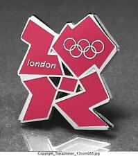 OLYMPIC PINS 2012 LONDON ENGLAND UK CUT OUT LOGO RINGS