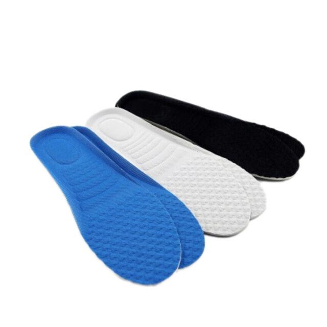 Anti-Slip Soft Orthotic Support Massaging Sport Shoes Insoles Pad Cushion Hj
