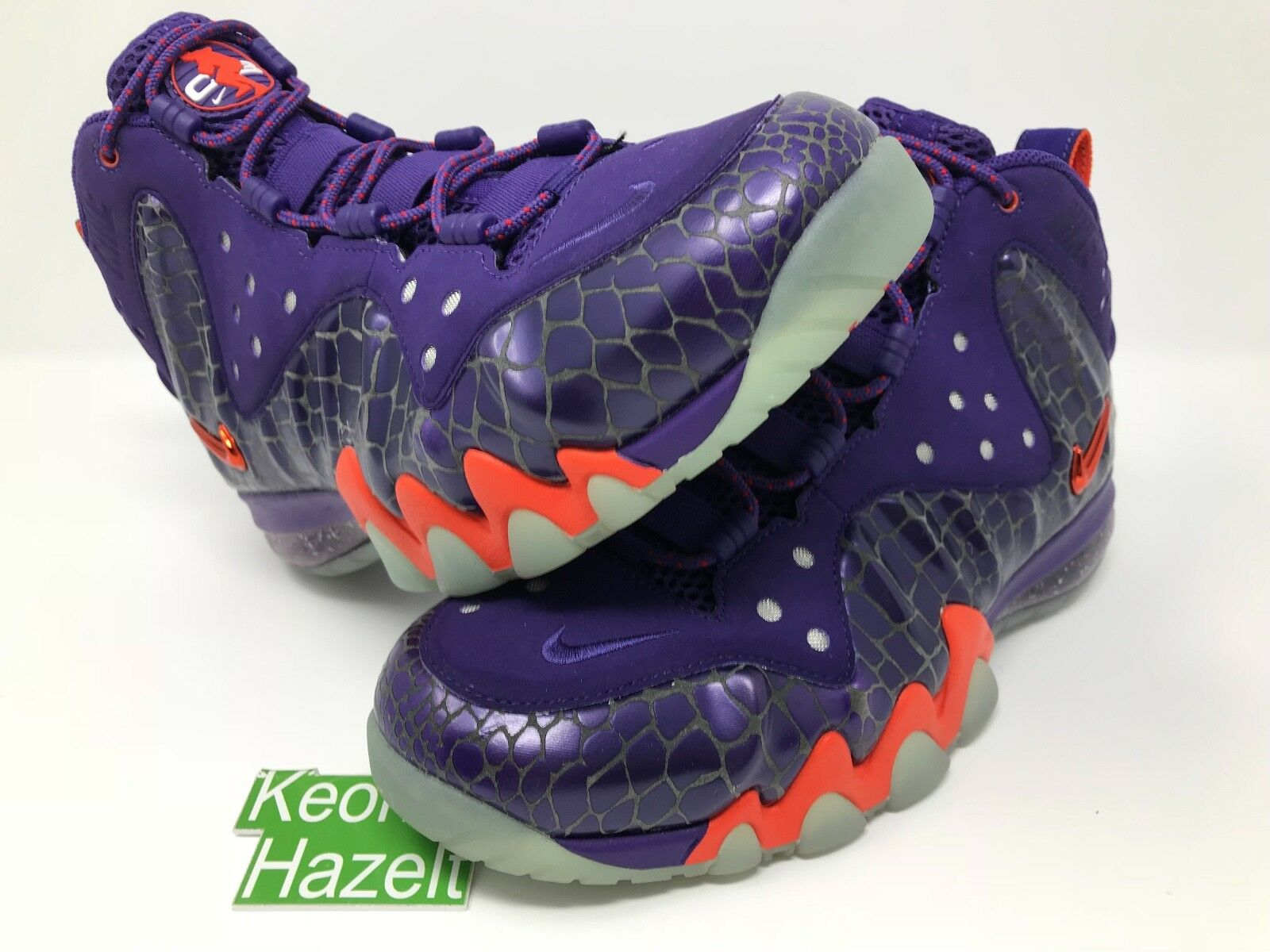 Comfortable and good-looking Nike Barkleyposite Max Phoenix Suns All Star Sz 8