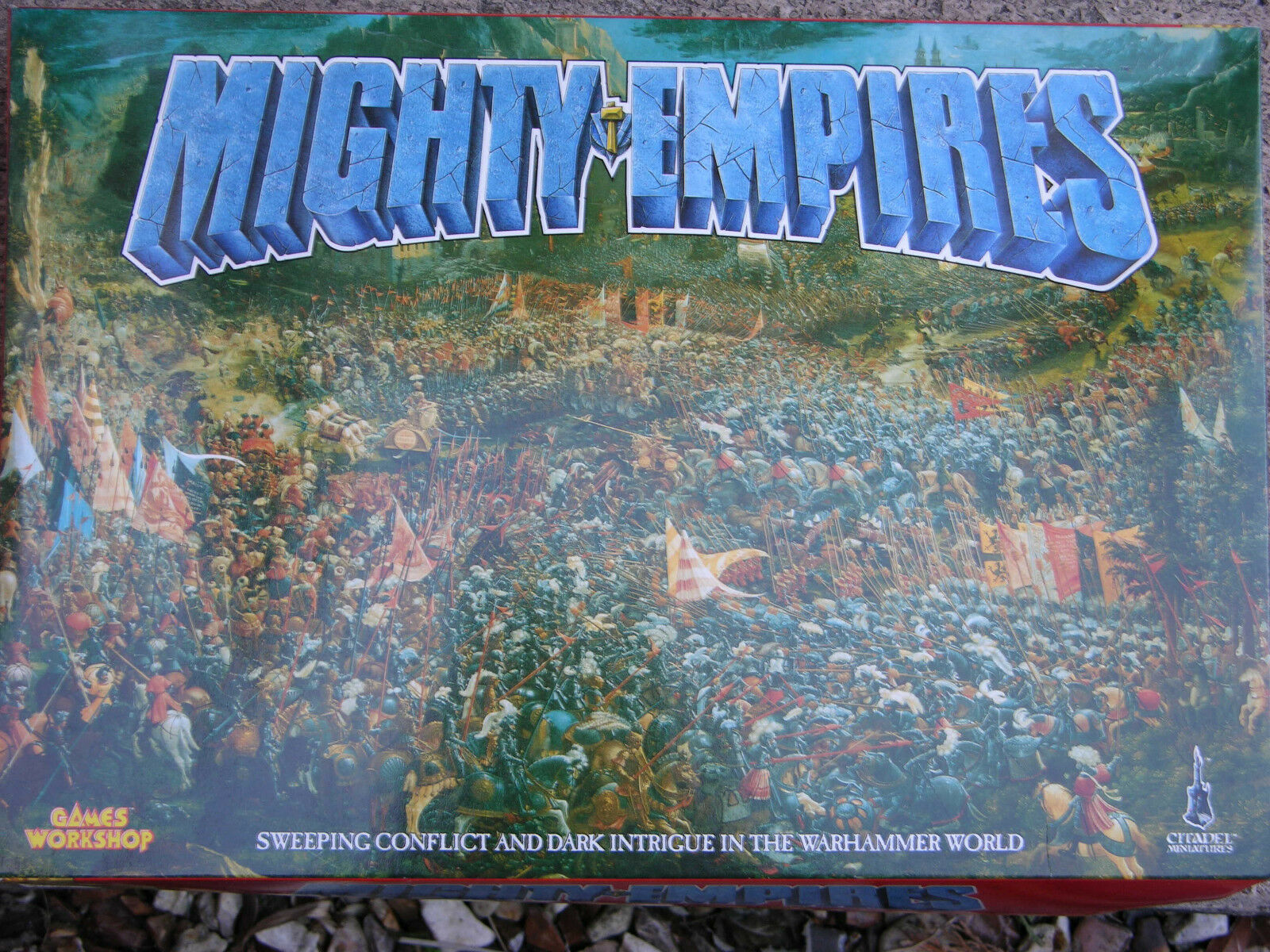 Games Workshop, Mighty Empires, Noyau Jeu Multi-Annonce