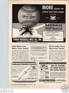 1960 PAPER AD Serro Travel Trailer RV Scotty 13' 15' Sportsman