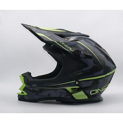 O'Neal 7Series EVO CAMO MX Helm Gelb Schwarz Motocross (53 - 54cm) - EP10.48