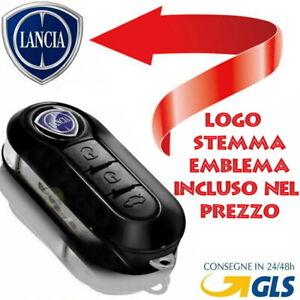 Chiave-Cover-Telecomando-Guscio-tasti-LANCIA-Y-MUSA-DELTA-IL-LOGO-E-INCLUSO