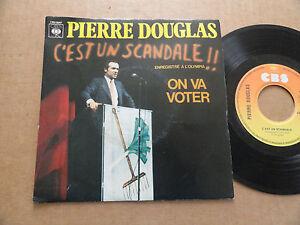 DISQUE-45T-DE-PIERRE-DOUGLAS-034-C-039-EST-UN-SCANDALE-034
