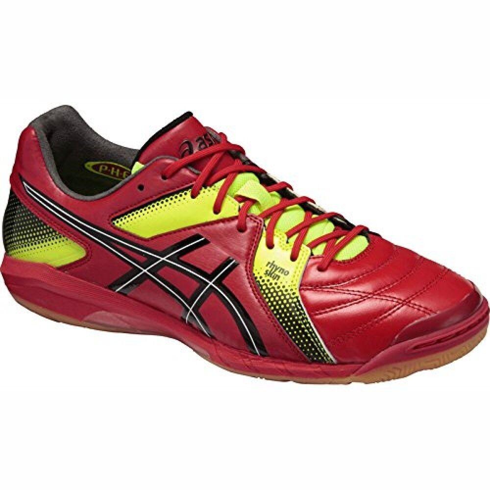 Asics destaque 6 J-ancho 2390 TST217 Zapatos De Futsal Fútbol Indoor Fútbol Rojo Japón