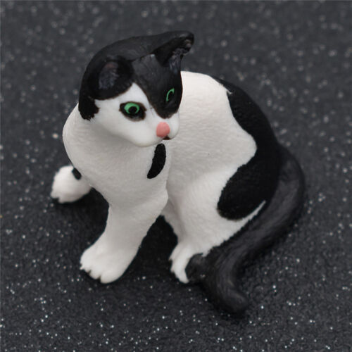1pc Cute Cat Model Figurine Statue PVC Doll for Kids Toys Home Decor Gift
