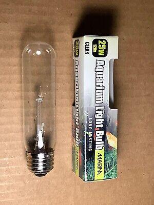 25w Incandescent Aquarium Bulb Fits E26 Socket Clear