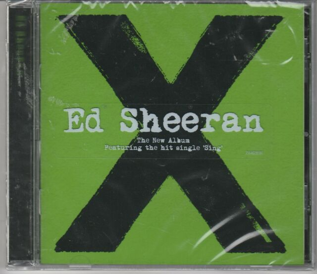ED SHEERAN - X BRAND NEW CD still sealed