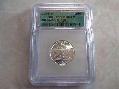 2006 S 25C Silver Nevada Quarter PCGS PR69DCAM