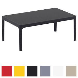 Details zu Lounge Tisch Sky wetterfest Couchtisch UV-beständig rostfrei  Tisch Gartentisch