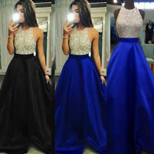 Women-Formal-Wedding-Bridesmaid-Long-Evening-Party-Ball-Prom-Cocktail-Dress