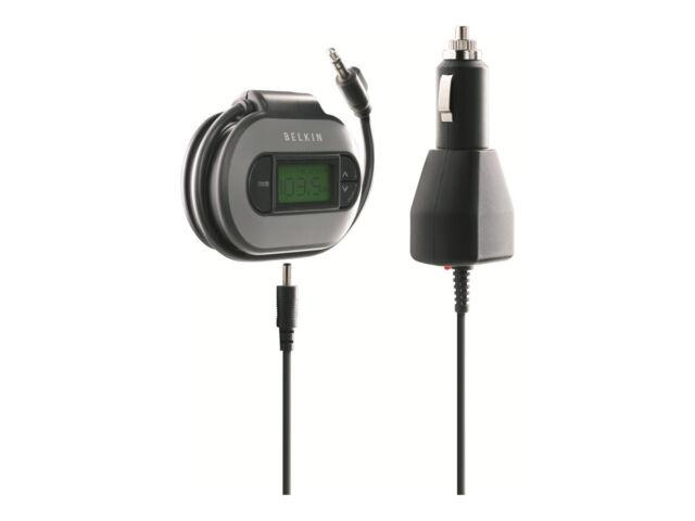 Belkin F8V3080eaBLKP TuneCast II FM Transmitter Black