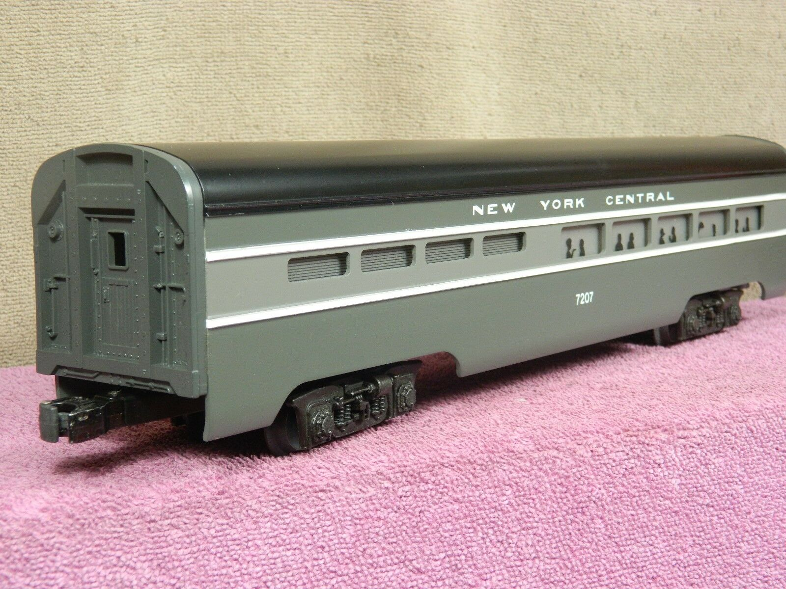 LIONEL CLASSIC  6-7207 NEW YORK CENTRAL DINING ALUMINUM PASSENGER CAR NIB