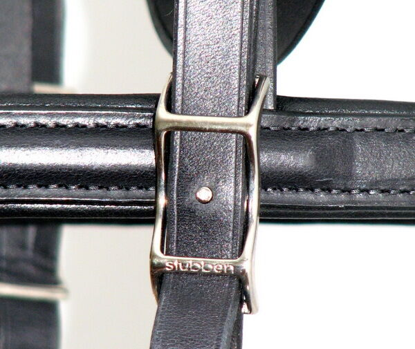 Stubben 1200 Tyrone German CRYSTAL COMFORT Bridle Made Custom Made Bridle Sparkle NEW 46550d
