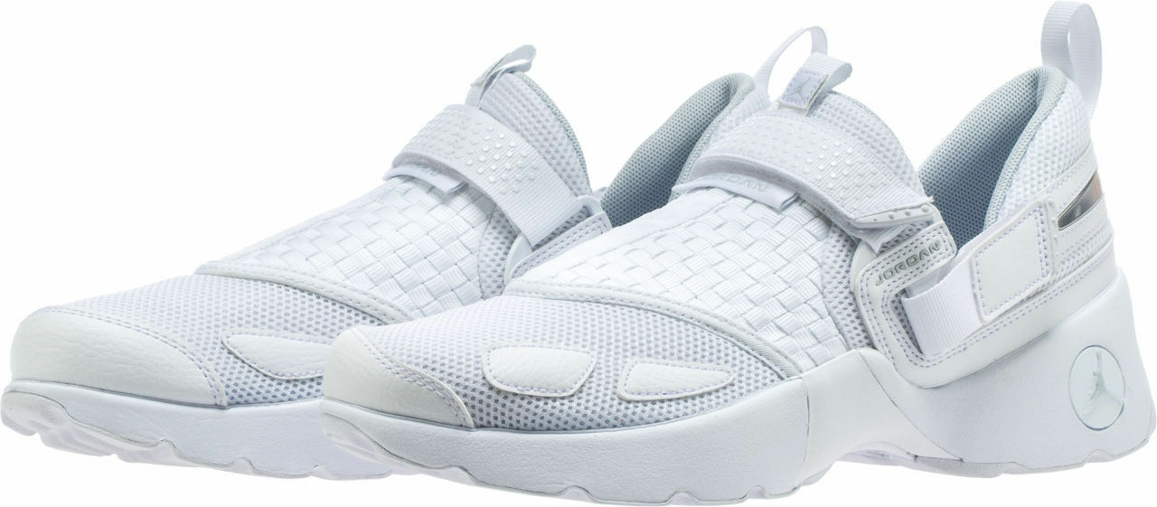 Men's Air Jordan Trunner LX Low White Platinum Sizes 8-12 New In Box 897992-100