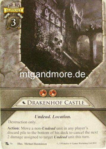 The Accursed Dead 1x Drakenhof Castle  #056 Warhammer Invasion