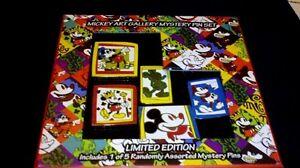 Disney-Pin-Mickey-Art-Gallery-Mystery-Set-LE-1000-includes-Bonus-Mystery-pin