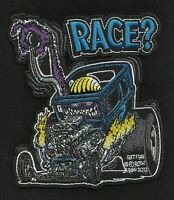 Officially Licensed Ed big Daddy Roth Rat Fink Race? Cafe Racer Hot Rod Patch