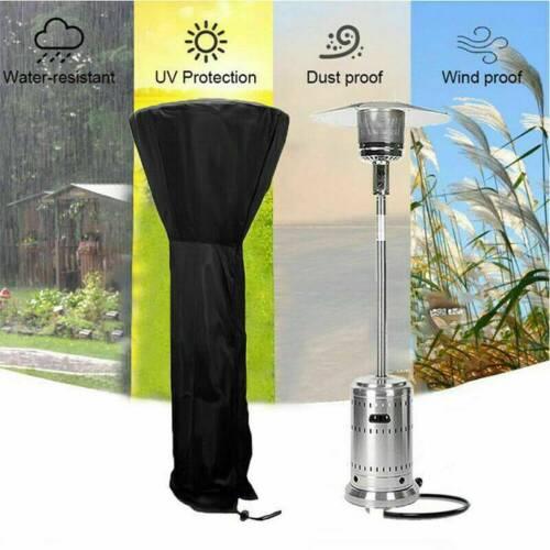 Outdoor Patio Gas Heater Covers Garden Waterproof Dust-Proof Protector Cover UK