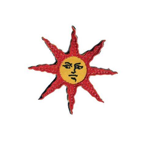 Praise the sun soleil médaille velcro patch Solar âmes Cosplay Badge