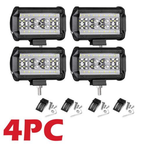 "5/""inch Car Truck LED Work SpotLight Flood Driving Bright Bulbs SUV 112W 12V//24V"
