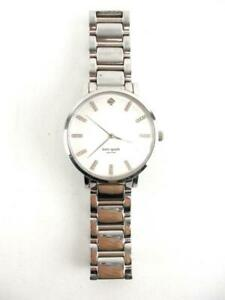 Details About Kate Spade Gramercy Grand Pearl Dial Crystal Accent Las Watch 1yru 0095