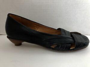 J-Jill-Shoes-Womens-Size-36-5-US-6-6-5-Black-Kitten-Heels-Brazil