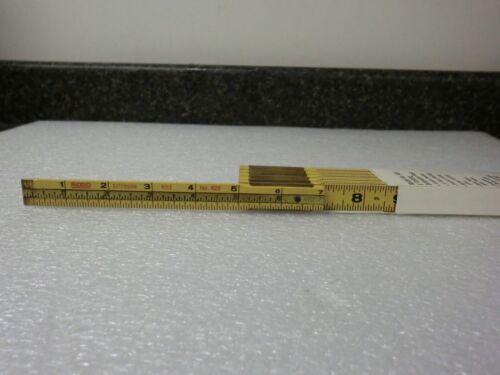 NEW RIDGID  6/' Folding Extension Ruler 6ft Model 620 Cat 36075