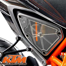 NEW 2012 - 2015 OEM KTM 690 DUKE TRANSPARENT AIRBOX COVER 7600690200099
