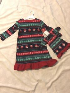 Jammies For Your Families Gown: Girl & Doll 3t Christmas/holiday Theme: 2t 4t Buy Now