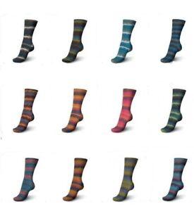 12-x-100-gr-Sockenwolle-Strumpfwolle-Regia-Viva-Color-Neu