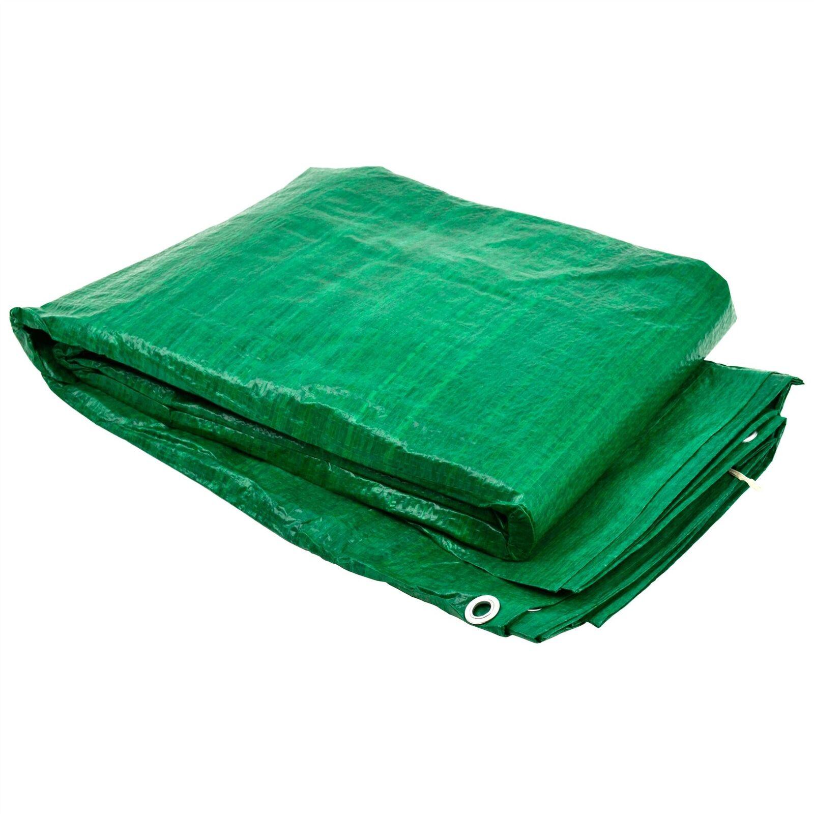 Tarpaulin Sheet Tarp Cover Ground Sheet Waterproof 7m x 9m   23ft x 30ft TE777