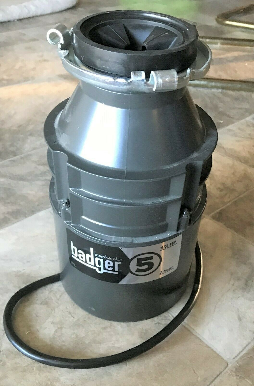 InSinkErator Badger 500 W//C 1//2 HP Continuous Feed Garbage Disposal Power Cord