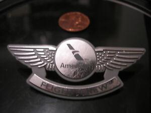 Junior Pilot Kids wings flight crew badge lapel pin American Airlines