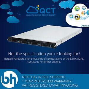 Quanta-S210-X12RS-Dual-6-Core-Xeon-E5-2620-64GB-RAM-2xPSU-4x3-5-034-1U-Server