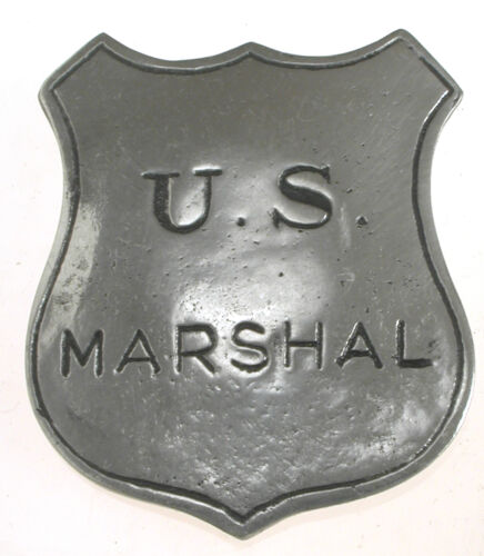 1 in HAT PIN US MARSHAL SHIELD OLD WEST PIN BADGE MADE IN USA 12