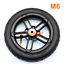 8-Inch-Inflated-Wheel-For-E-twow-S2-Scooter-M6-Pneumatic-Wheel-With-Inner-Tube thumbnail 1