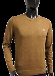 Lacoste Herren Pullover Sweater Strick braun NEU