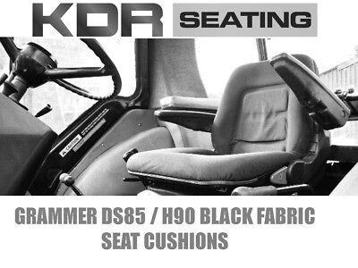 Grammer DS85 H90 tipo cojines de asiento de Tractor Case IH John Deere tela de David Brown