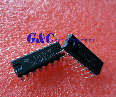 5pcs SN76489AN DIP-16 Digital complex sound generator NEW
