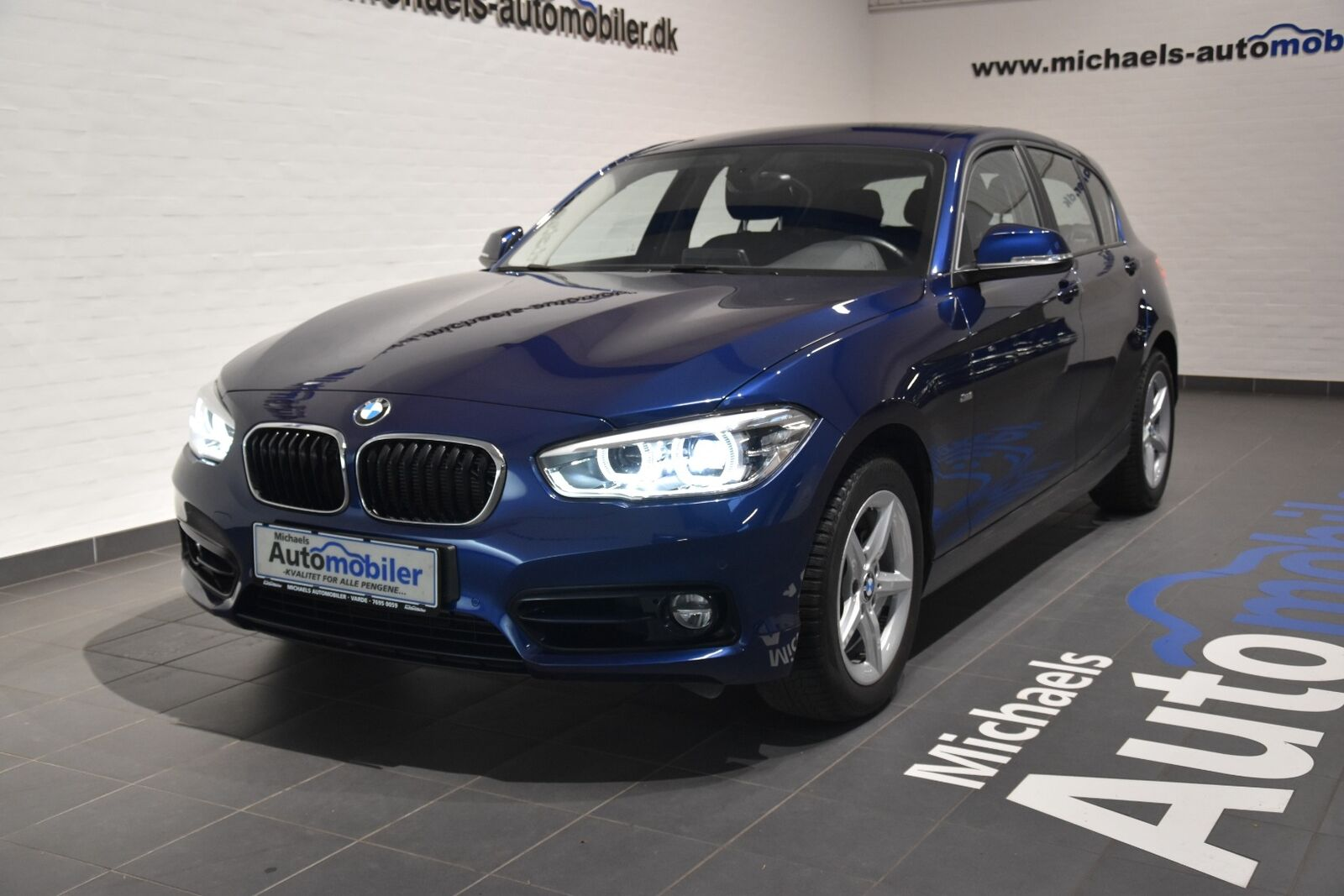 BMW 118d 2,0 Sport Line aut. 5d - 279.900 kr.